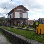 Estación del Plazaola en Lekunberri