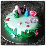 Torta per il compleanno di mia figlia creata appositamente dalla cuoca dell'Hotel (a prezzi ones
