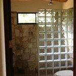 Bathroom in the deluxe room