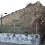 Part of the old 12th Century Arab walls