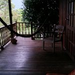 Relaxing Deck Outside the Room
