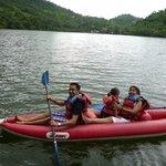 Kayaking in the lake..