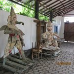 Sculptures @Barefoot Gallery Cafe, Colombo