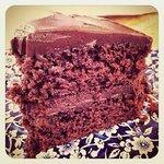 Amazing chocolate cake!