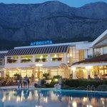 Hotel mit Biokovo Gebirge