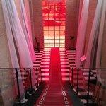Escalier central.