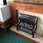 random fireplace