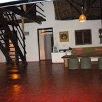 Pepo cottage interior lounge