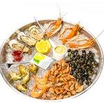 Un délicieux plateaux de fruits de mer !