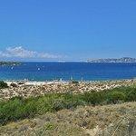 """Vista Panoramica dal bar """"Le Dune"""""""