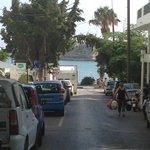 Strada da hotel a porto