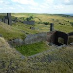 Titterstone Clee Hill views and quarry works