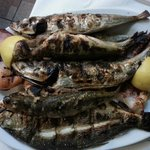 pesce arrosto