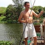 на рыбалке во Вьетнаме