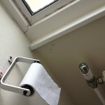 broken loo roll holder