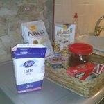 i prodotti per la colazione