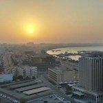 Vista desde el hotel Gloria Doha.!!