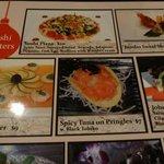 amusing menu options