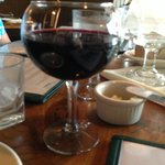 Incorrect wine glass @ Friends & Company Inc.