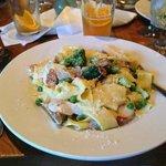 Sausage & Broccoli Carbonara @ Friends & Company Inc.