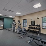 The fitness center at the Hampton Inn & Suites Tampa Northwest Oldsmar