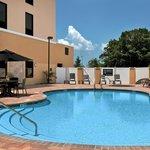 The pool at the Hampton Inn & Suites Tampa Northwest Oldsmar