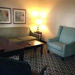 Suites sitting room