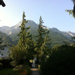 The beautiful view, taken straight from the front door of Haus Am Moos