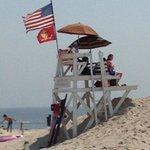 Jones Beach , On the watch tower !