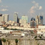 View of Downtown Nashville from Room 1405