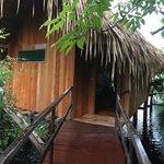 Vista da cabana especial