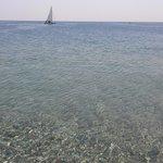Mare vista spiaggia