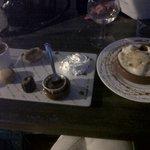 café gourmqnd et sabayon de fraises