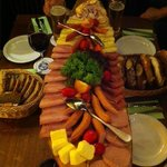 Meat & cheese platter beer tour