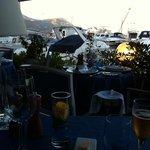 Abendstimmung Terrasse Le Sloop