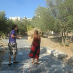 The road to the Acropolis with Achilles