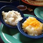 Gouda grits and pineapple casserole
