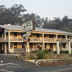 Gunn House Hotel - Smoke in air from Rim Fire