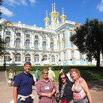 with Valentina (Insider Tour Guide) at Catherine's Palace