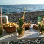aperitivo in spiaggia