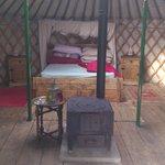 Celynnin main bed