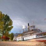 The SS Sicamous in the Spring