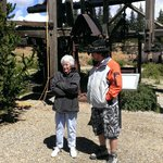 My Mom and Will at American Eagles Scenic Overlook