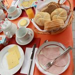 Our breakfast, yummy!