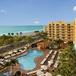Breathtaking views from your Resort room in Deerfield Beach Florida!