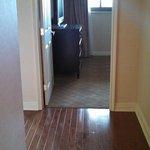 Front hallway of Room 600