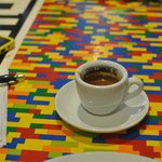 A fine espresso (in a very fine cup) from Four Corners