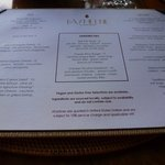 The fantastic lunch menu