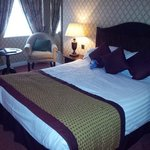 Bedroom viewed from door (superior room)