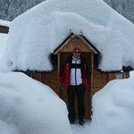 Wie auf (Schnee)- Wolke 7 lotuskw@